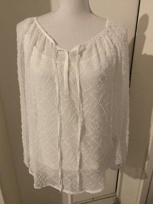 Khujo Blusa de manga larga blanco