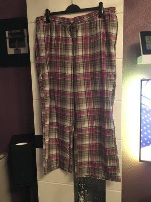Pyjama oatmeal-pink cotton