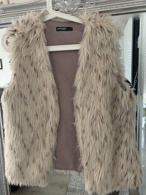 page Fur vest multicolored