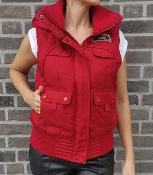 Vero Moda Hooded Vest red
