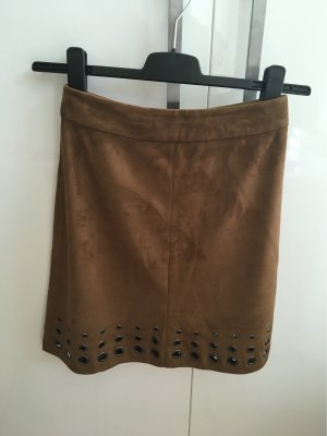 Orsay Faux Leather Skirt multicolored