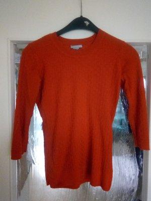 Schöner 3/4-Arm Pullover in hellrot