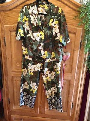 MNG Tailleur-pantalon multicolore
