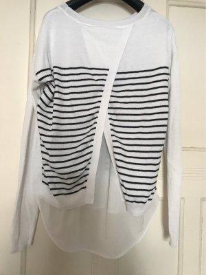 Esprit Maglione twin set bianco-nero