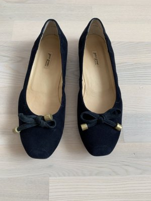 Paul Green Ballerina Mary Jane blu scuro Pelle