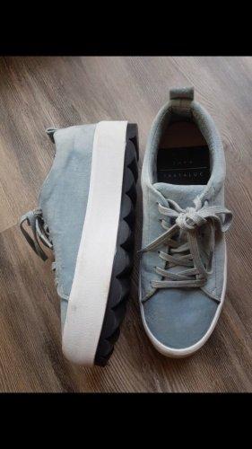 Zara Sneaker con tacco multicolore