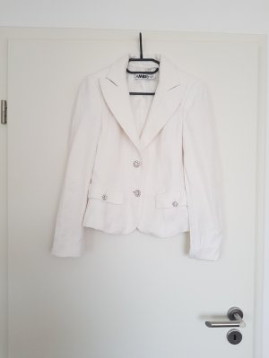 Ambiente Jersey Blazer white-silver-colored
