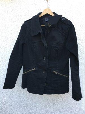 Schöner Blazer/Jacke von H&M in schwarz, Gr. 42