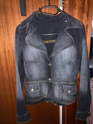 Schöner Blazer Jeans dunkelblau Costume International Gr. 38