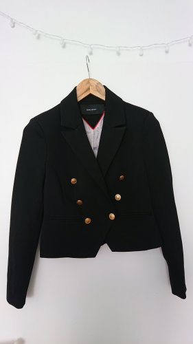 Vero Moda Korte blazer zwart-goud