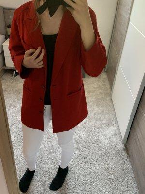 Alba Moda Blazer largo rojo
