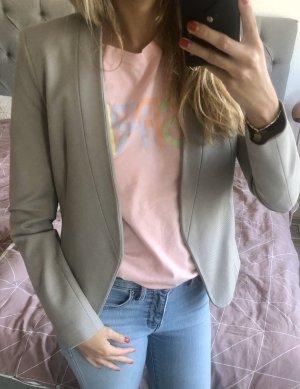Topshop Long Blazer grey-light grey