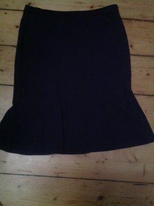 Armani Collezioni Spódnica z godetami ciemnoniebieski