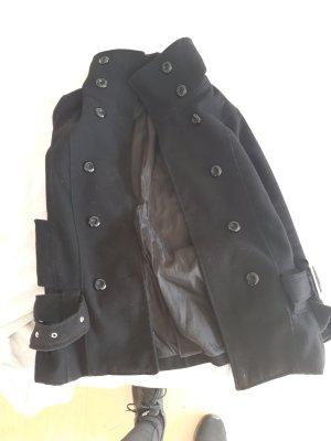 Pea Jacket black