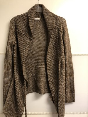 Tom Tailor Cardigan all'uncinetto marrone