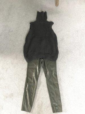 H&M Cardigan long gris foncé