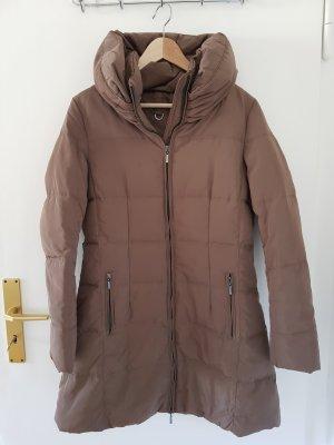 Zara Winter Coat light brown-camel