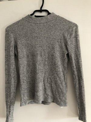 New Yorker Pull en laine gris-gris foncé