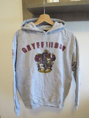 schöner grauer Hoodie Kapuzenpullover Harry Potter aus London Damen M 38