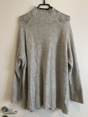H&M Knitted Sweater light grey