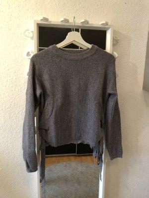 Long Sweater grey-light grey