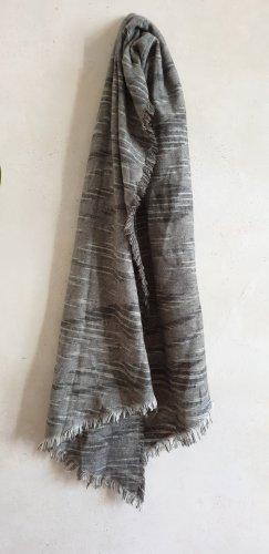 keine Marke Sciarpa di lana multicolore