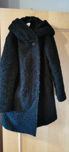 schöner Grüner Woll-Wintermantel