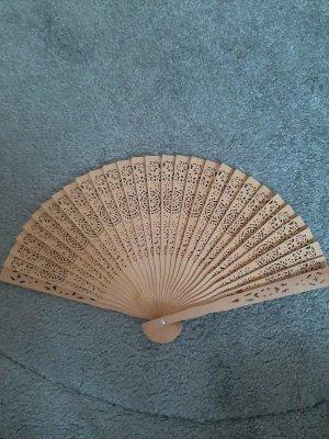 Hand Fan light brown