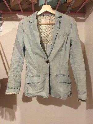 H&M L.O.G.G. Spijkerblazer lichtblauw-babyblauw