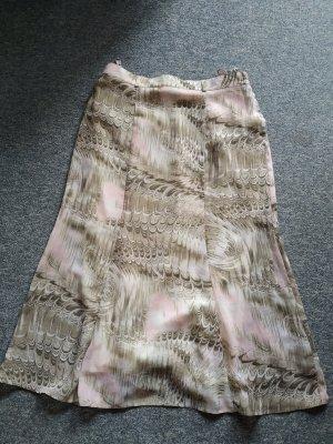 Adagio Falda larga blanco puro-rosa claro Poliéster