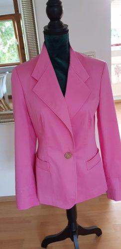 Aigner Long Blazer neon pink cotton