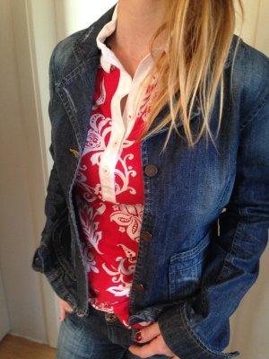 schöner Jeansblazer, leicht tailliert, Madonna, Größe L