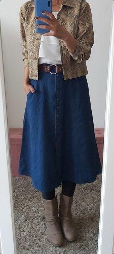 Maxi Skirt blue-neon blue