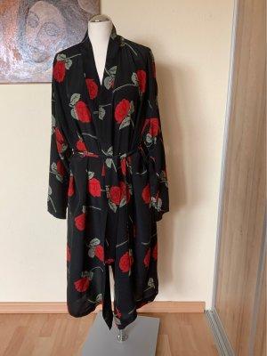 Christophe Sauvat Kimono multicolore mousseline de soie