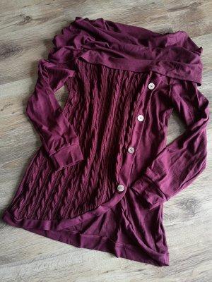 schöner langer Pullover Strick