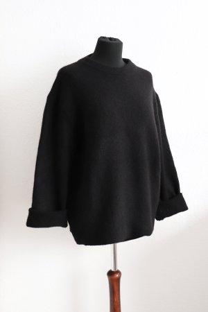 Schöner lockerer Oversize Pullover von Zara mit Wolle Größe S 36 38 40