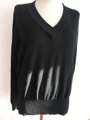 Broadway Sweter z dekoltem w kształcie litery V czarny