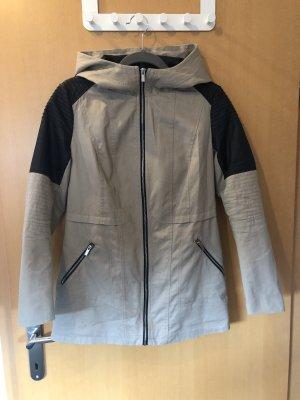 Tally Weijl Manteau à capuche beige-noir