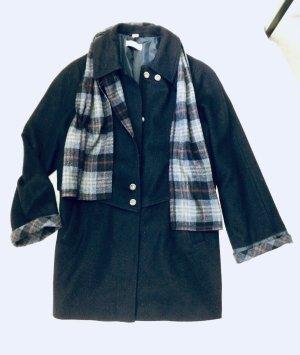 Mona Abrigo de lana multicolor