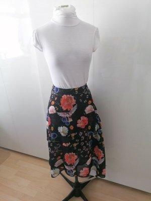Tigha Midi Skirt black