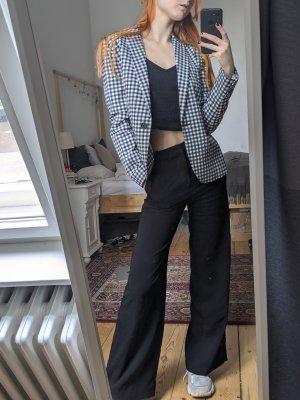 Zara Blazer smoking bianco-blu scuro