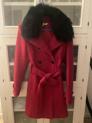 Kocca Trenchcoat noir-rouge foncé