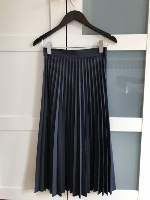 Zara Jupe mi-longue gris ardoise