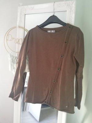 AJC Kraagloze sweater veelkleurig