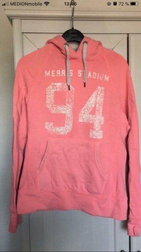 H&M Pull à capuche blanc-rose