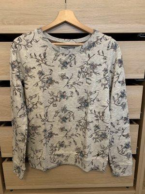 Kraagloze sweater veelkleurig
