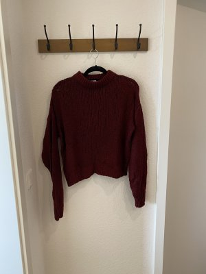 NA-KD Wool Sweater blackberry-red