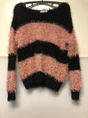 Gehaakte trui zwart