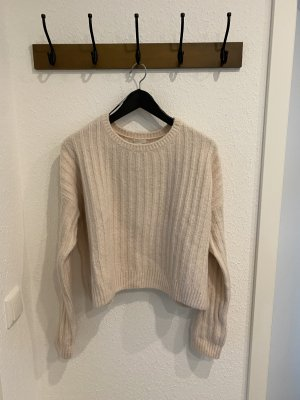 H&M Wool Sweater dusky pink-pink
