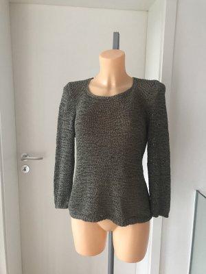 Schöner Pullover aus Bändchengarn * Größe 36/38/40
